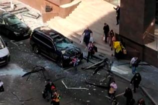 В московском бизнес-центре прогремел мощный взрыв