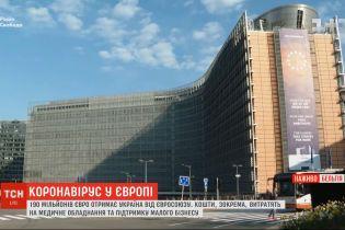 Евросоюз выделит Украине более 190 милллионов евро на борьбу с коронавирусом