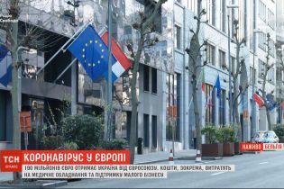 Понад 190 мільйонів євро отримає Україна від Євросоюзу у зв'язку з пандемією коронавірусу