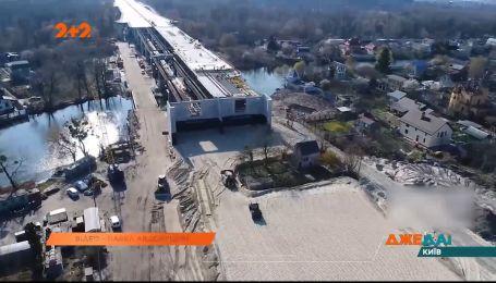 Будівництву Подільсько-Воскресенського мосту заважає не знесений будинок