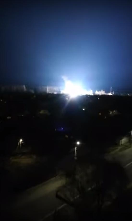 У Боярці загорілася електропідстанція