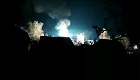 В Боярке горела электроподстанция