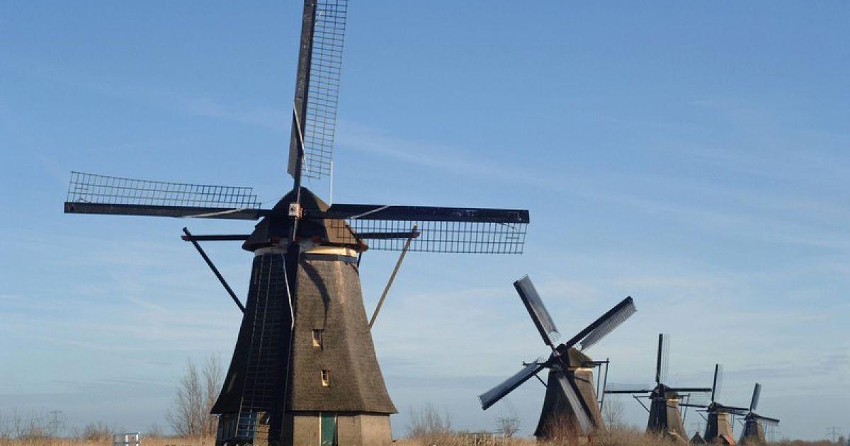 Ветряные мельницы - один из символов Нидерландов @ Правда.if.ua