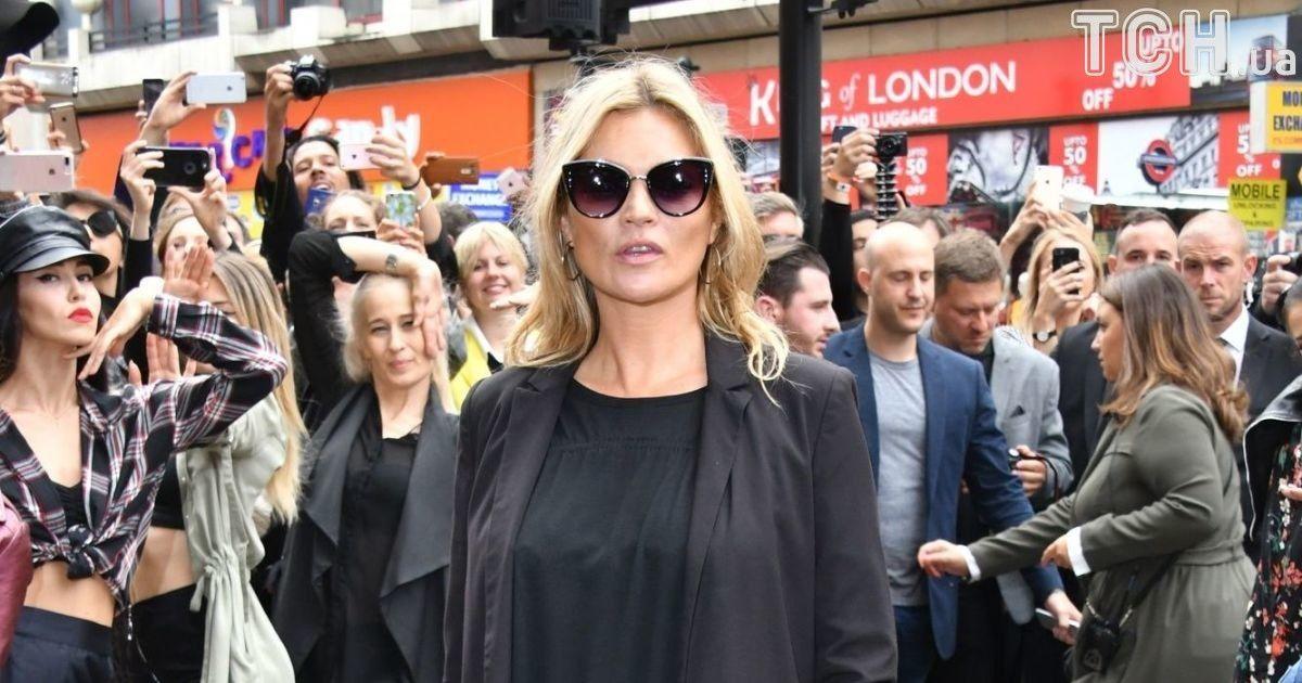 Кейт Мосс привела доньку-підлітка на модний показ у Лондоні