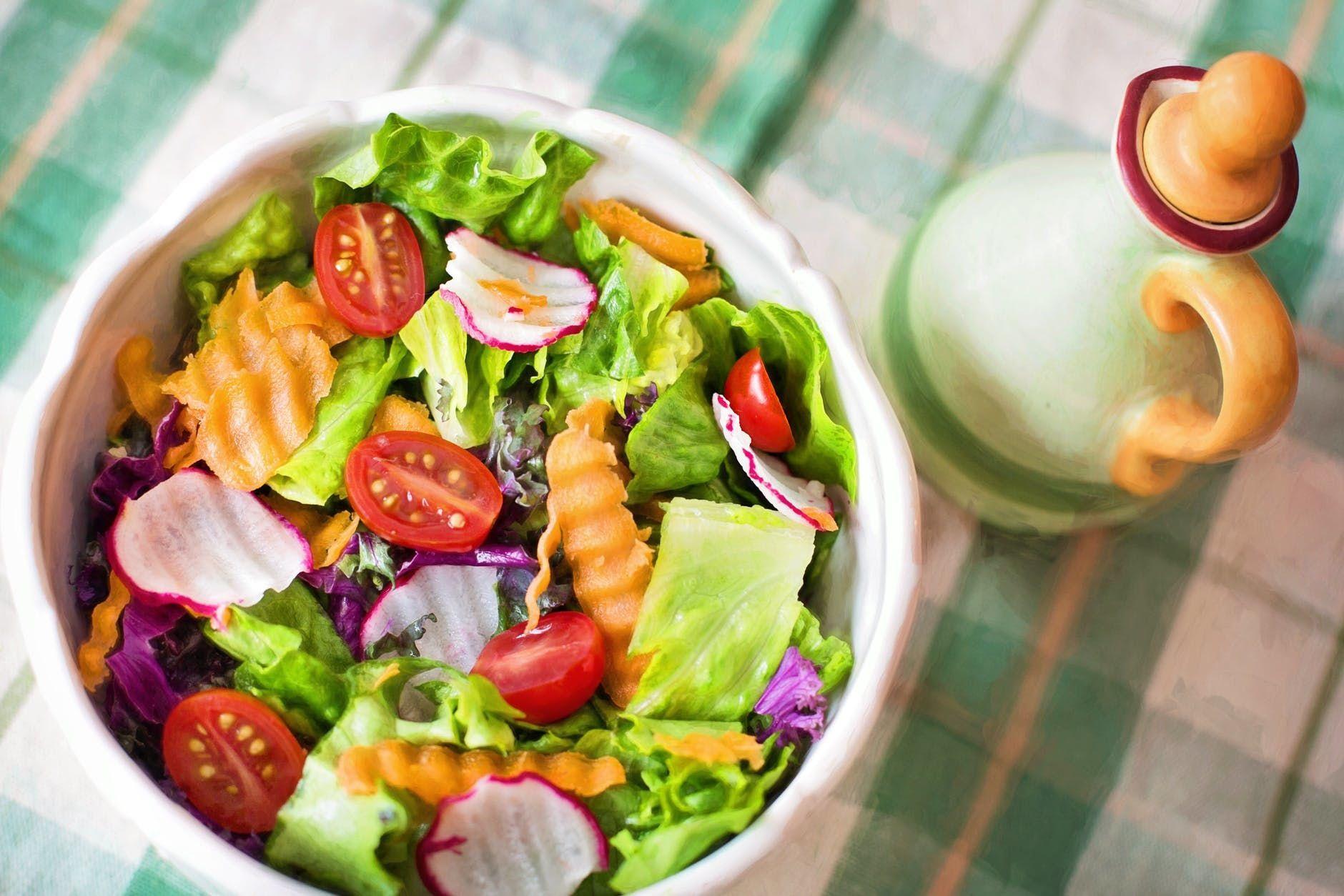 салат, середземноморська дієта