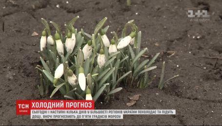 Похолодание и дожди: в Украине резко изменится погода