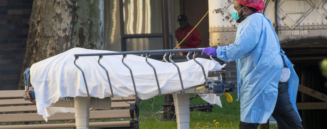 В Нью-Йорке большинство инфицированных коронавирусом, которые требовали подключения к аппаратам ИВЛ, умерло - исследование