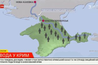 В каком состоянии Северо-Крымский канал и планирует ли Киев подавать воду на полуостров