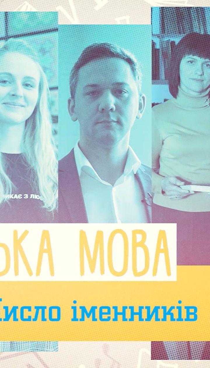 10 класс. Украинский язык. Число имен существительных. 2 неделя, пн