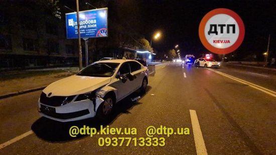 У Києві водій автівки МВС на смерть збив пішохода - ЗМІ