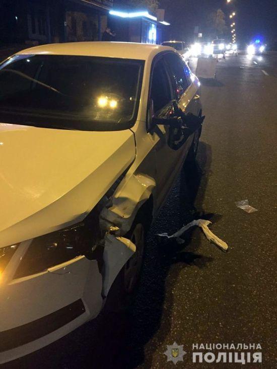 У Києві автомобіль поліції на смерть збив пішохода: справою зайнялось ДБР