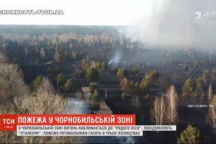 Чернобыль пылает: в зоне отчуждения спасатели тушат пожар в трех лесничествах