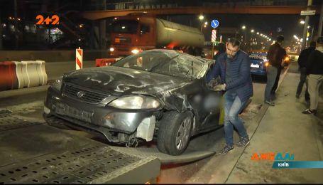 Поездка в такси с пересадкой в быстрой: Таксисты не затормозил вовремя и попал в аварию