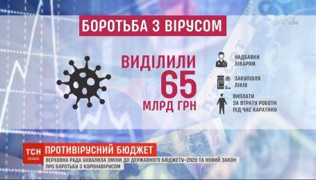 Депутати урізали собі зарплати і майже 65 мільярдів гривень виділили на боротьбу із коронавірусом