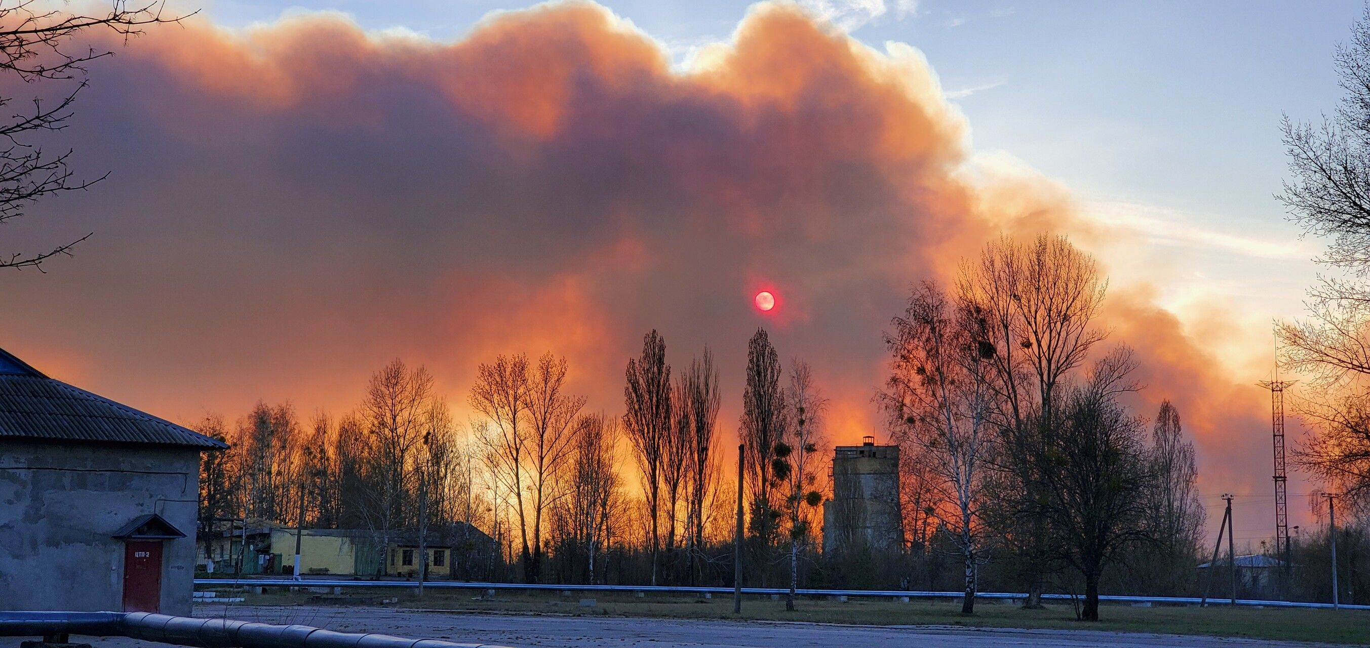 пожежа в Чорнобильській зоні_13