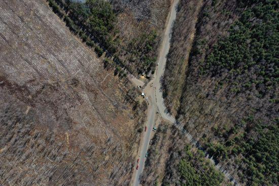 У Зоні відчуження та у Житомирській області триває гасіння осередків тління