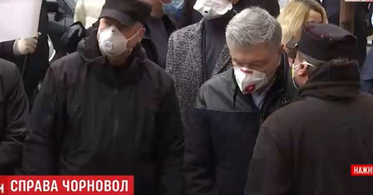 Порошенко и Турчинов пришли поддержать Чорновол на суде