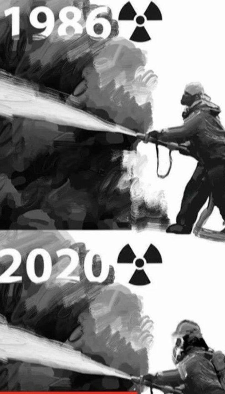 Пожар в Чернобыльской зоне удалось локализовать - ДСНС