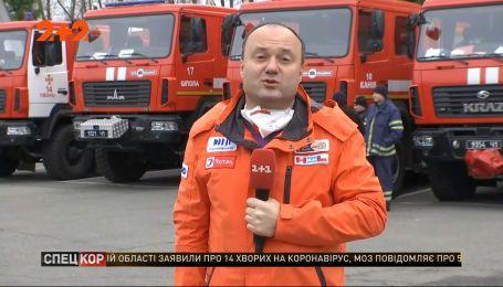 Дощ та пів тисячі рятувальників борються із пожежею в Чорнобильській зоні