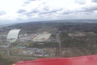 ТСН сняла с высоты, как выглядит Чернобыльская зона после пожара