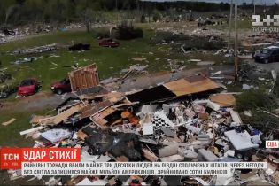 Разрушительные торнадо убили более трех десятков человек на юге США