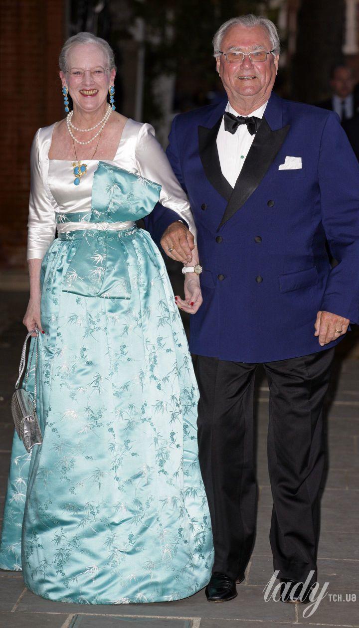 Королева Маргрете II і принц Генрік