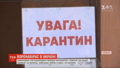 На Буковине подтвердили 73 новых случая коронавируса