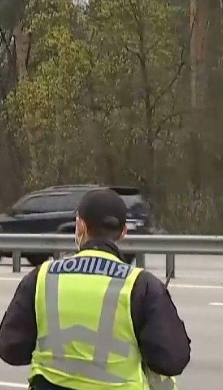 У Києві посилюється контроль на основних в'їздах до міста