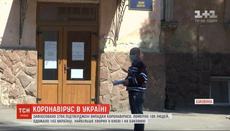 Коронавриус в регионах: какова ситуация на Буковине и Прикарпатье