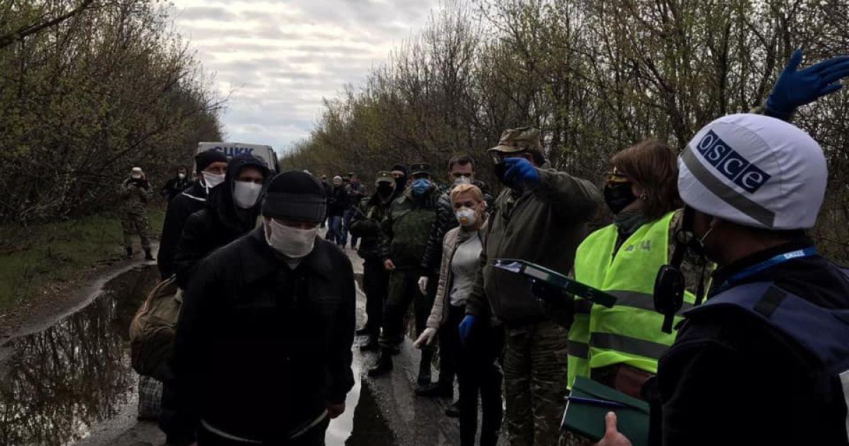 обмін полоненими @ Офіс Президента України