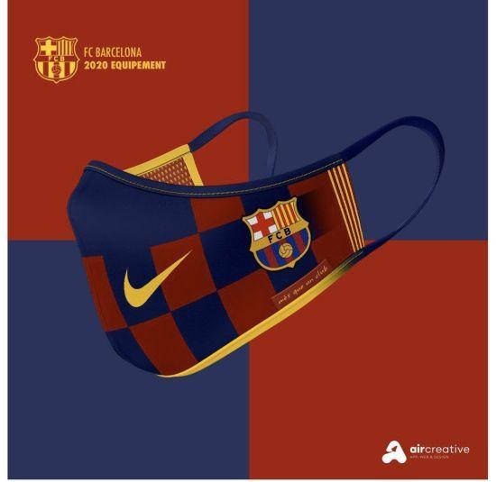 Мрія фаната: в Іспанії створили антикоронавірусні маски з емблемами топових футбольних клубів