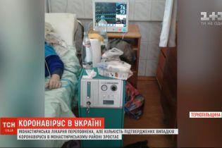 Монастириська районна лікарня переповнена пацієнтами з COVID-19