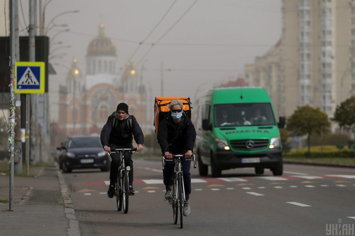 пилова буря, карантин, коронавірус у Києві