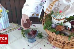 Оксана Пекун показала, как готовить пасхальную корзину
