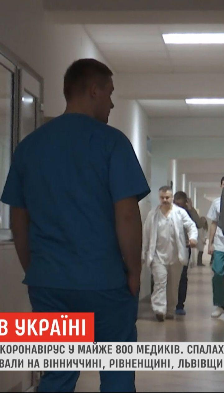 Вспышка коронавируса: каждый четвертый инфицированный в Украине - медик