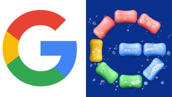Українець зробив лого з мила для Google: його опублікували в інстаграмі пошуковика