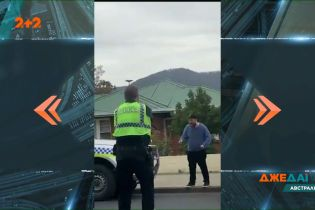 В Австралії чоловік озброївся ножом та намагався пограбувати аптеку