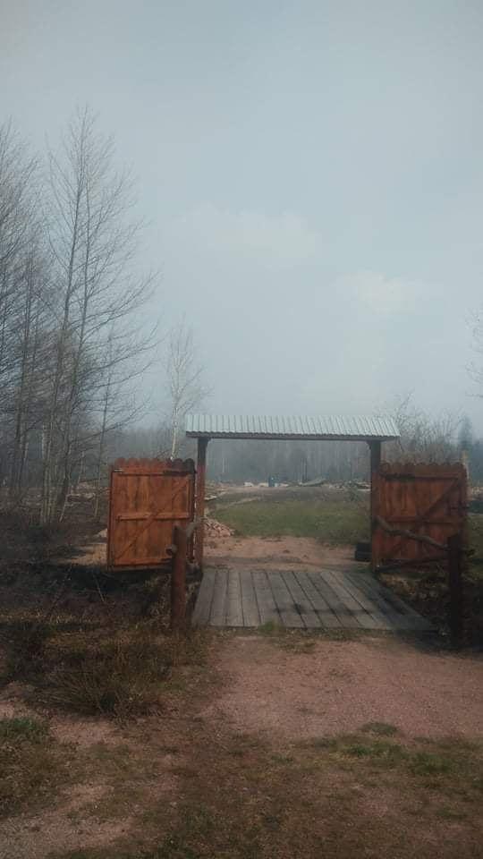 Наслідки пожежі у Житомирській області, село Личмани_5