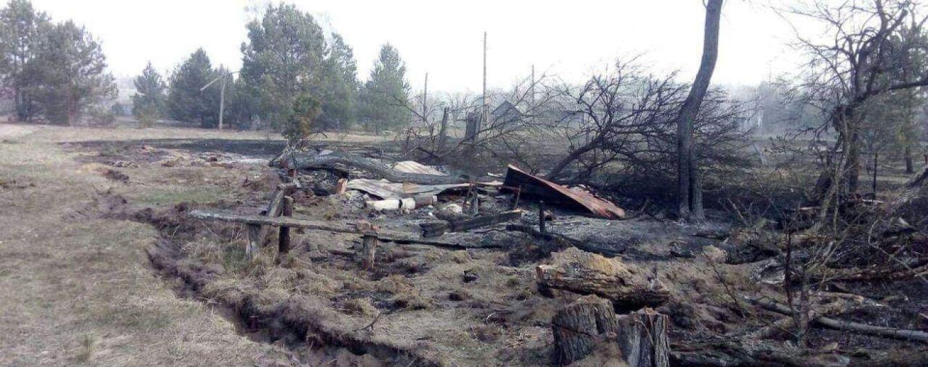 Масштабные пожары в Житомирской области: пострадавшим выделят деньги на восстановление жилья