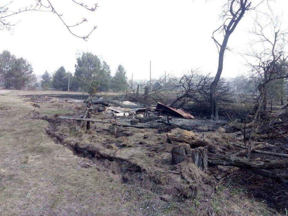 Наслідки пожежі у Житомирській області, село Личмани_7