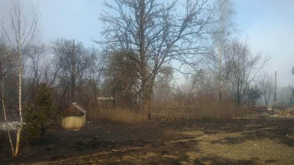 Наслідки пожежі у Житомирській області, село Личмани_9