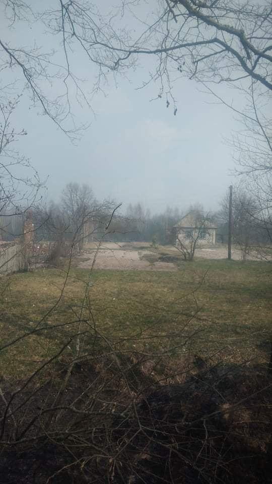 Наслідки пожежі у Житомирській області, село Личмани_11