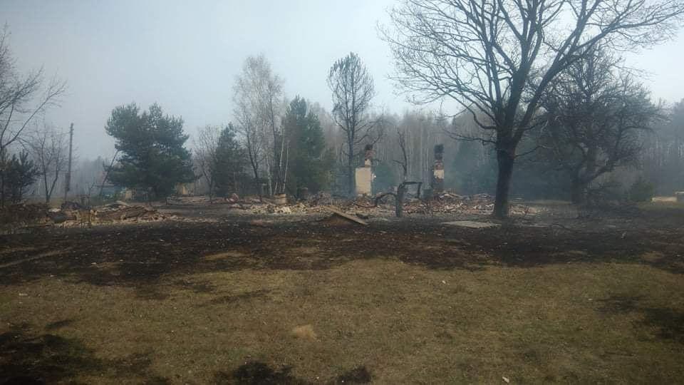 Наслідки пожежі у Житомирській області, село Личмани_6