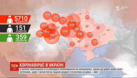 За пасхальное воскресенье в Украине обнаружили 261 новый случай заболевания коронавирусом