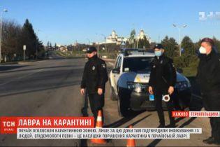 Коронавірус у Тернопільській області: Почаїв оголосили карантинною зоною
