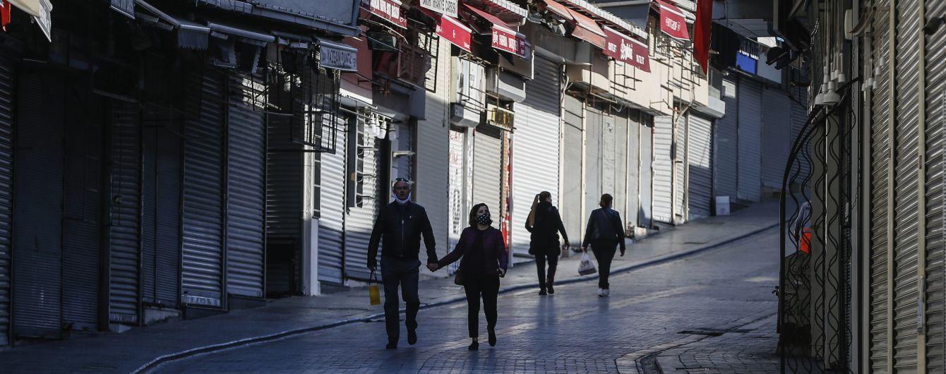 У Туреччині зареєстрували рекордний добовий приріст смертей від коронавірусу