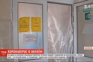 За добу у лікарнях Буковини померло четверо людей з підозрою на коронавірус