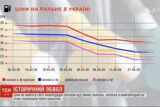Чи вплине обвал нафти на ціни на бензин в Україні