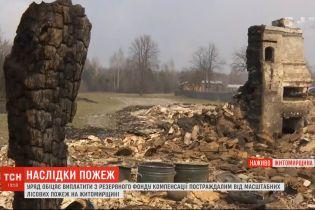 Компенсації погорільцям: чого найбільше потребують люди, які залишились без даху над головою у Житомирській області