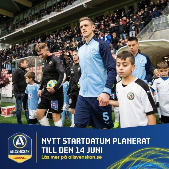 Швеція, яка не вводила жорсткий карантин, визначилися з датою старту футбольного чемпіонату